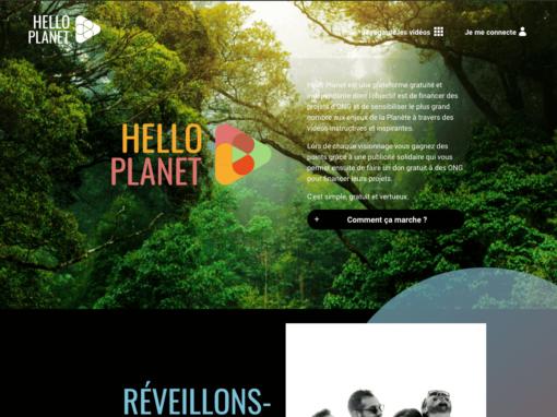 HelloPlanet.tv – Agissons pour la planète